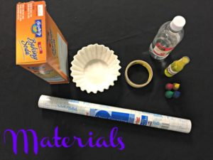 Fizzy Fireworks Materials