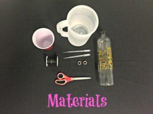 Hook, Line & Sinker Materials List
