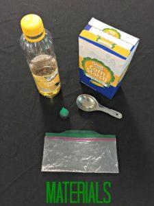 Space Plastics Materials List